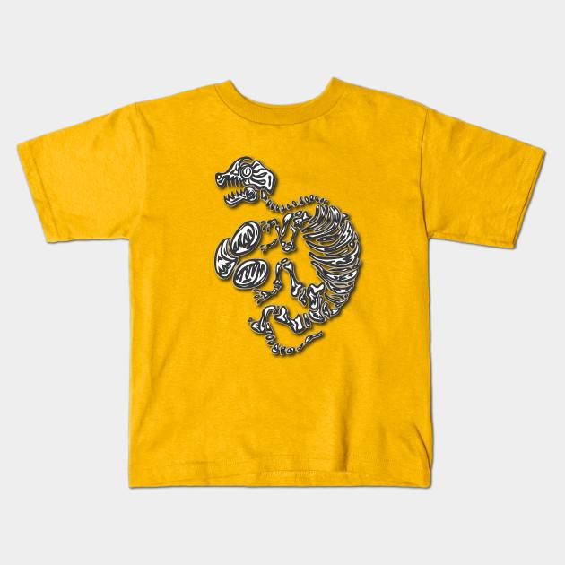 c0c23279e Long Sleep Dino with Eggs #2 (shadow) - Cute Bird - Kids T-Shirt ...