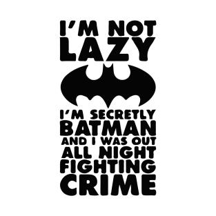 Being Batman t-shirts