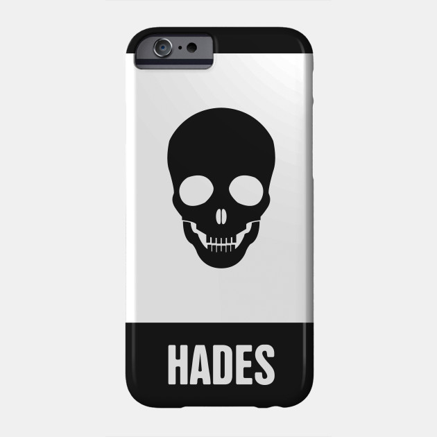 Hades Greek Mythology God Symbol Greek Mythology Phone Case