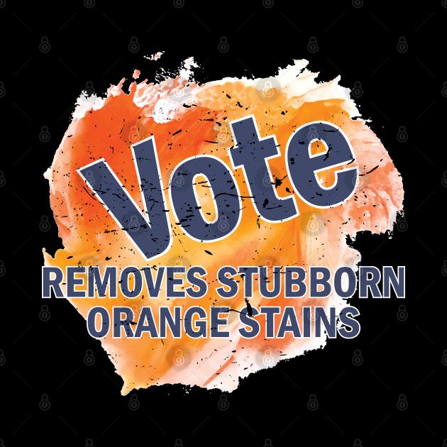 Vote Removes Stubborn Orange Stains