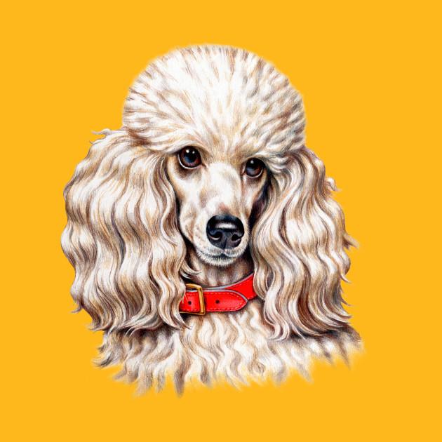 Full-Face Toy Poodle Dog - Toy Poodle Dog - T-Shirt   TeePublic