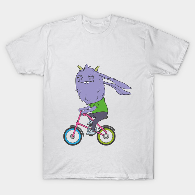 Monster Cyclist T-Shirt-TOZ