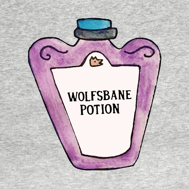 Wolfsbane Potion Wizard Tank Top Teepublic
