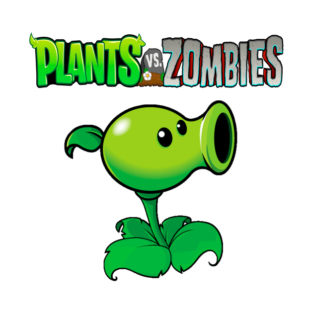 Peashooter design | Plants vs Zombies - Videogames - Kids ...