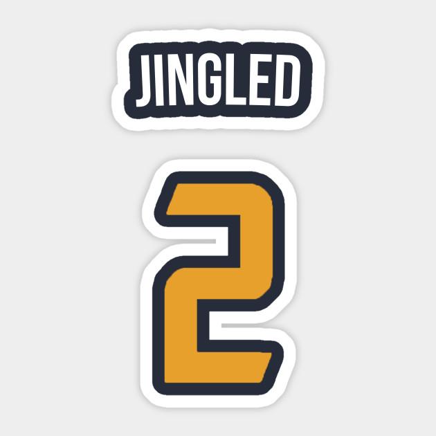 online store 96b4d 169d9 Joe Ingles 'Jingled' Nickname Jersey - Utah Jazz