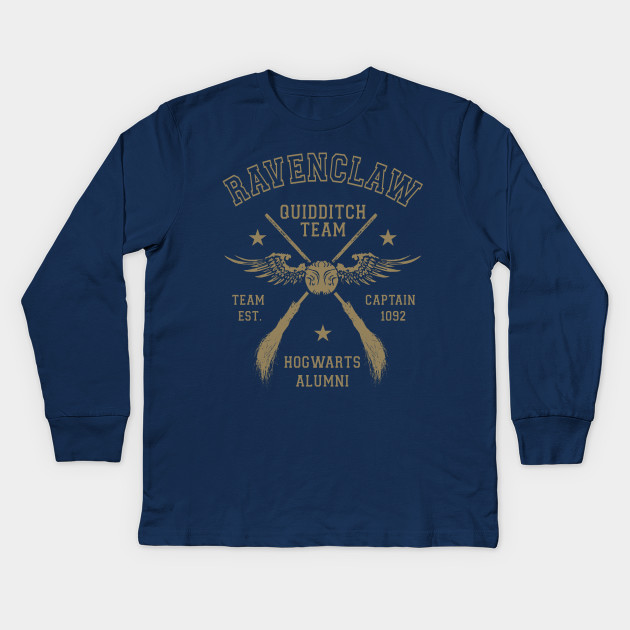 4f018745 Ravenclaw Quidditch Team Captain - Ravenclaw - Kids Long Sleeve T ...