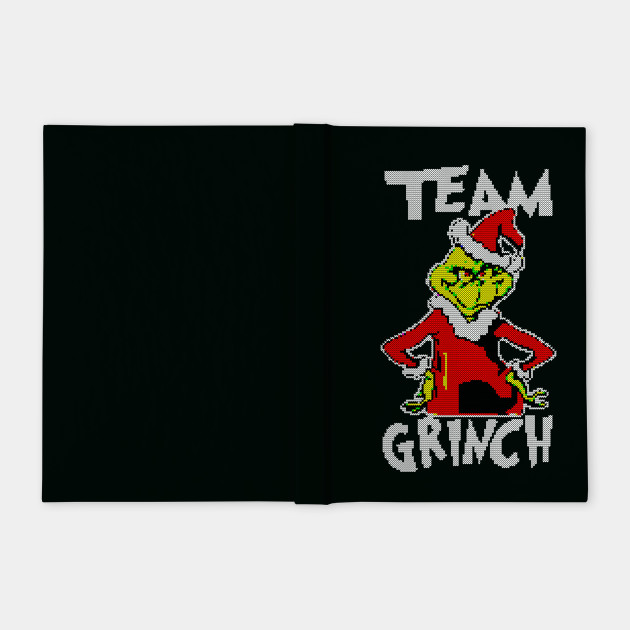 Team Grinch ugly christmas sweater