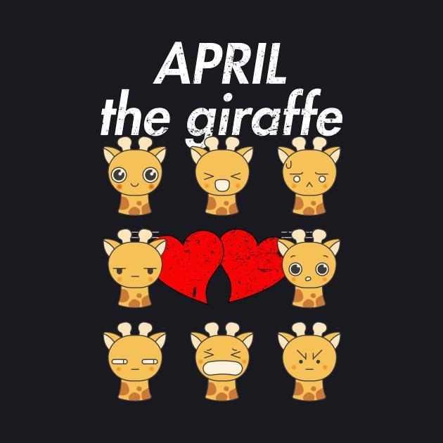 April The Giraffe Emoji Funny