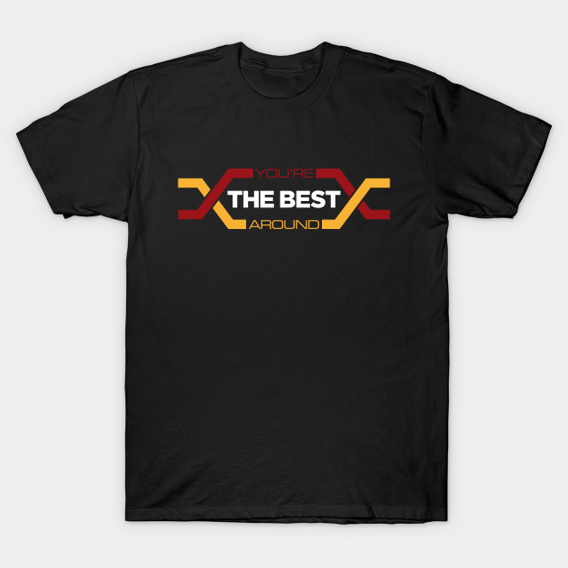 77ef0294de9f You're The Best Around Montage - All Valley Karate Kid Championship T-Shirt