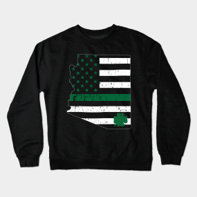 8e8dba342 St Patricks Day Gift Ideas Crewneck Sweatshirts | TeePublic