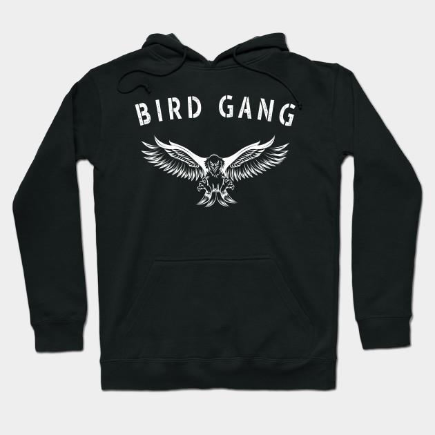 9616f6e3ad6 Bird Gang Eagle - Philadelphia football fans - Bird Gang - Hoodie ...