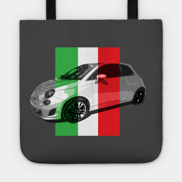 Fiat with Italia Flag