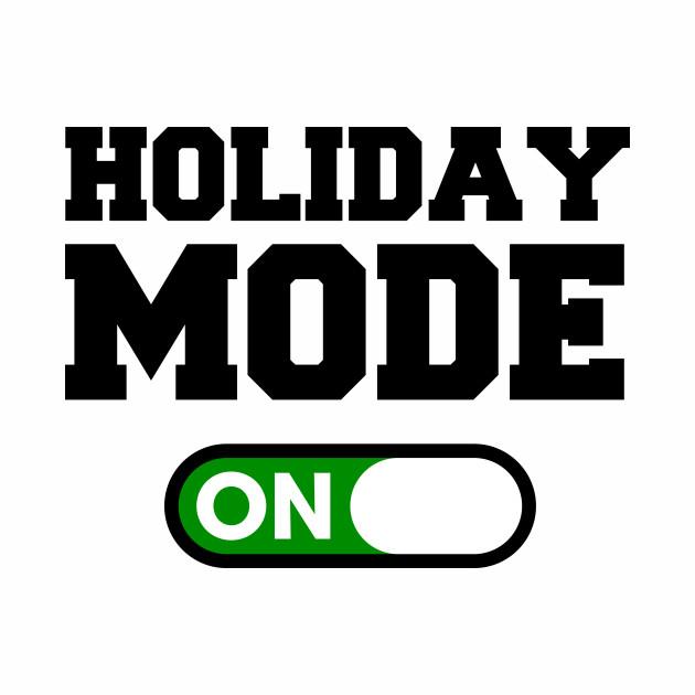 نتیجه تصویری برای holiday mode