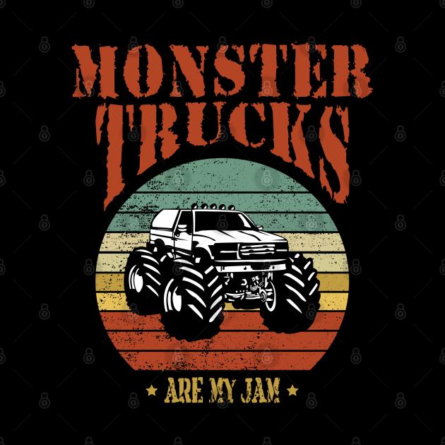 monster truck, are my jam
