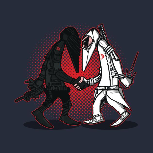 Ninja Vs Ninja T-Shirt