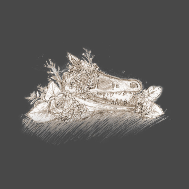 A 3D PRINTED DIRE WOLF SKULL PENDANT COULD BE YOURS ... |Velociraptor Skull Front