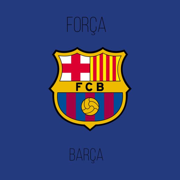 f0973006961a85 Forca Barca - Barcelona - T-Shirt