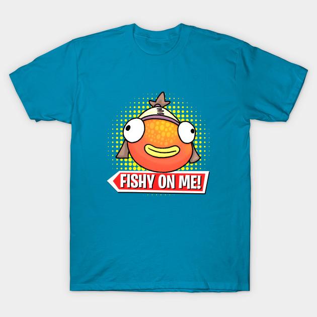Fishy On Me Derpy Face Tiko T Shirt Teepublic