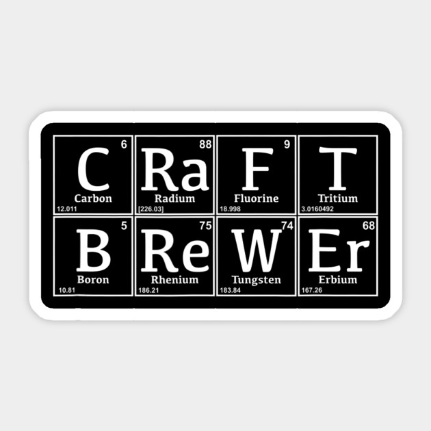 Periodic Craft Brewer Nerd Beer Brewing