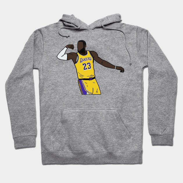 cheap for discount a50bf 91fde Lebron James Flex Celebration - Los Angeles Lakers