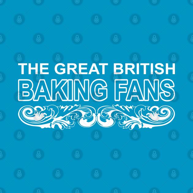 great british baking fans white