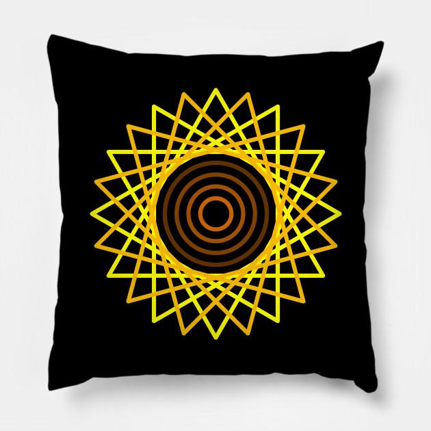 Geometric Sunflower