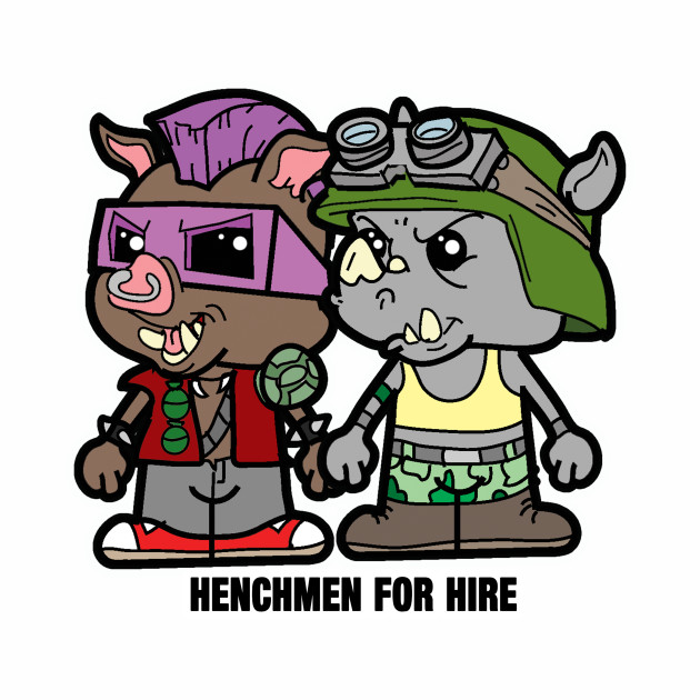 Lil Bebop and Rocksteady