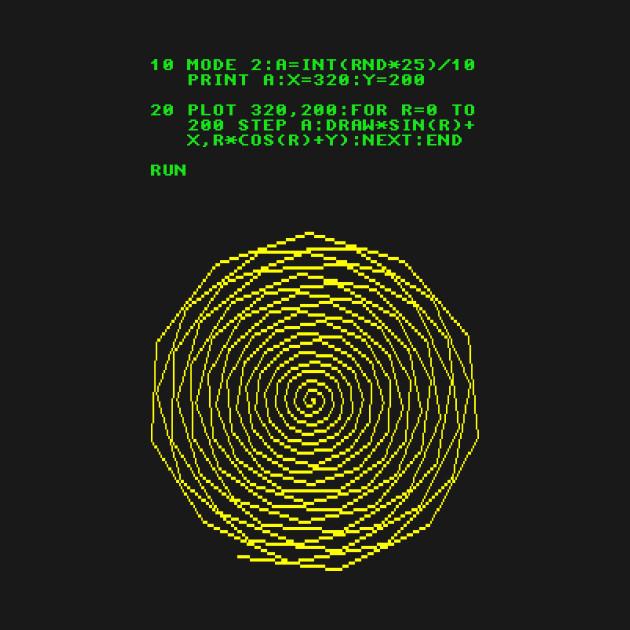 Spiral Basic Code