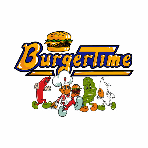 Burger Time Characters