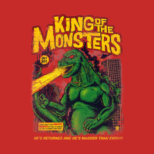King of the Monsters t-shirts