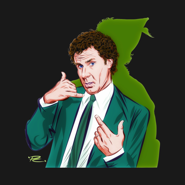 Will Ferrell - An illustration by Paul Cemmick