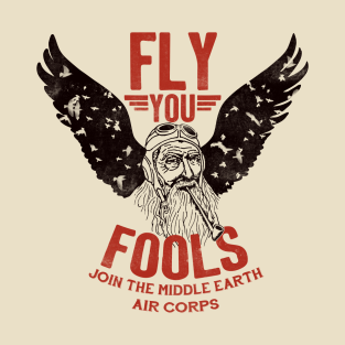 Middle Earth Air Corps t-shirts