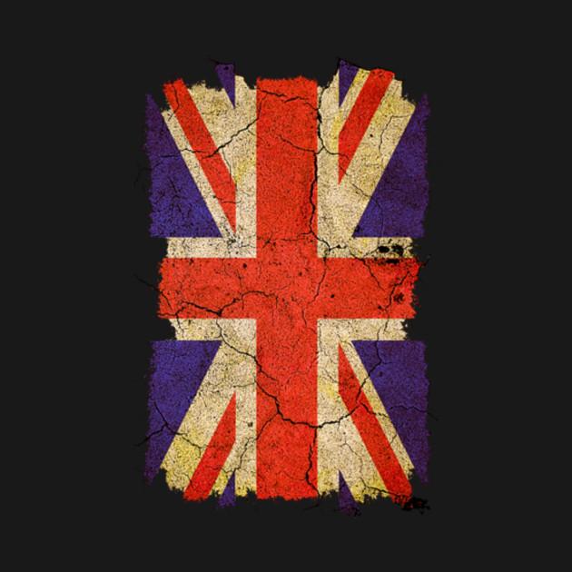Grunge 'Union Jack' UK Flag