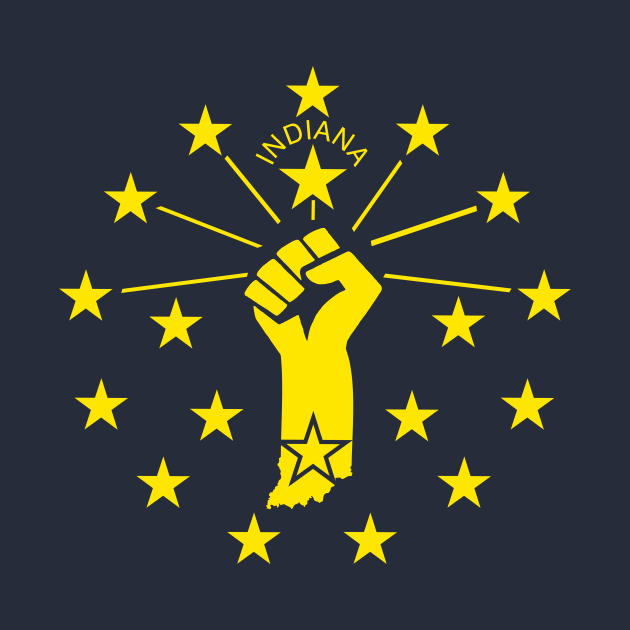 Indiana Power Flag