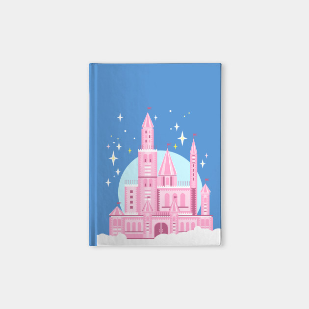 Pink castle in the sky