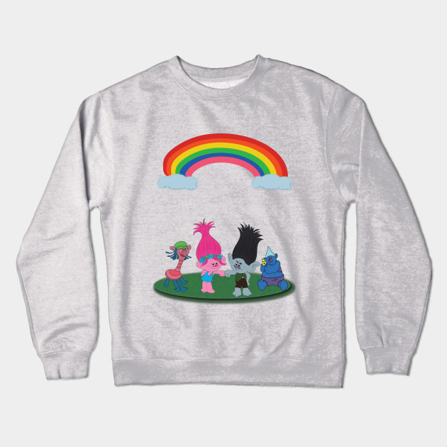 5b7838554d68 Trolls from Dreamworks - Trolls - Crewneck Sweatshirt | TeePublic