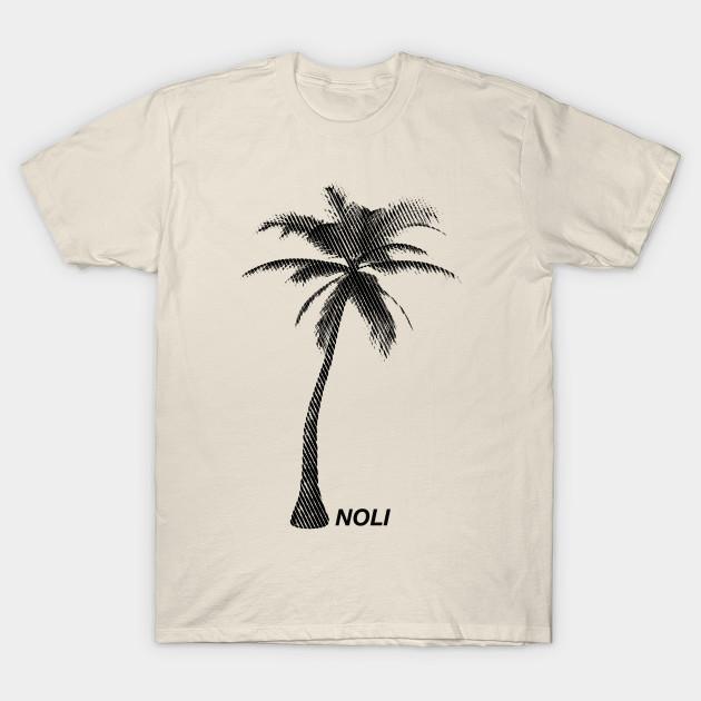 bd33735582 Minimalist Black and White Palm Tree Print
