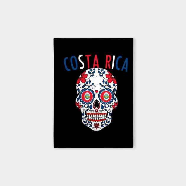 369a3482a Calavera Costa Rica World Cup Team Flag Soccer Jersey Kosta Rika 2018  Notebook