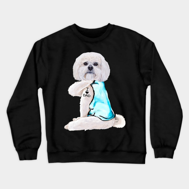 Lhasa Apso Dog Love Hoody Sweatshirt