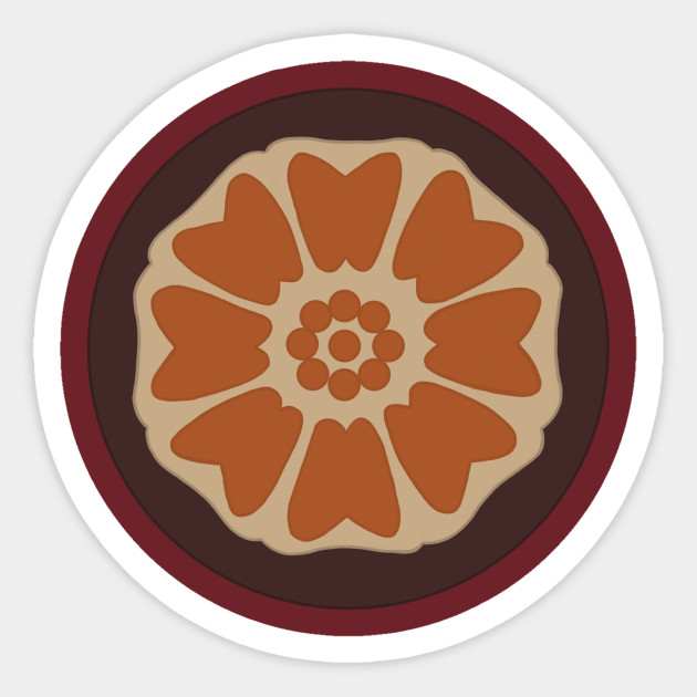Order Of The White Lotus Uncle Iroh Sticker Teepublic