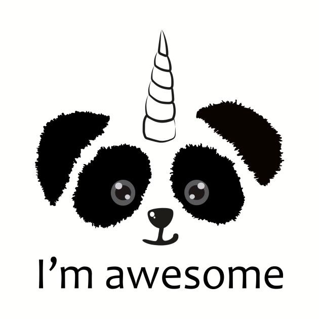 "Pandicorn ""I'm awesome"""