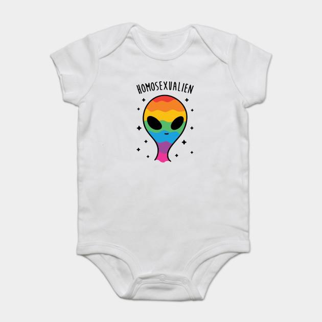 c60f49ca3 Gay Pride Alien - Saga - Onesie | TeePublic