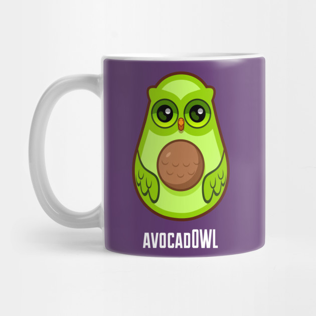 Avocad Owl Sticker