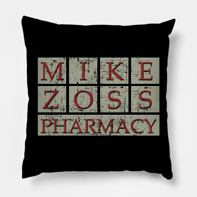 Mike Zoss Pharmacy, distressed