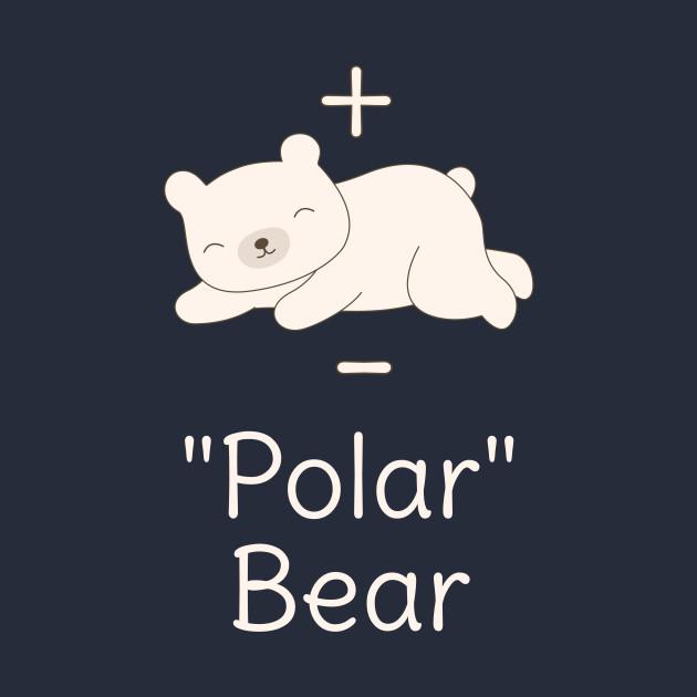 Funny Polar Bear Chemistry Science Pun T-Shirt