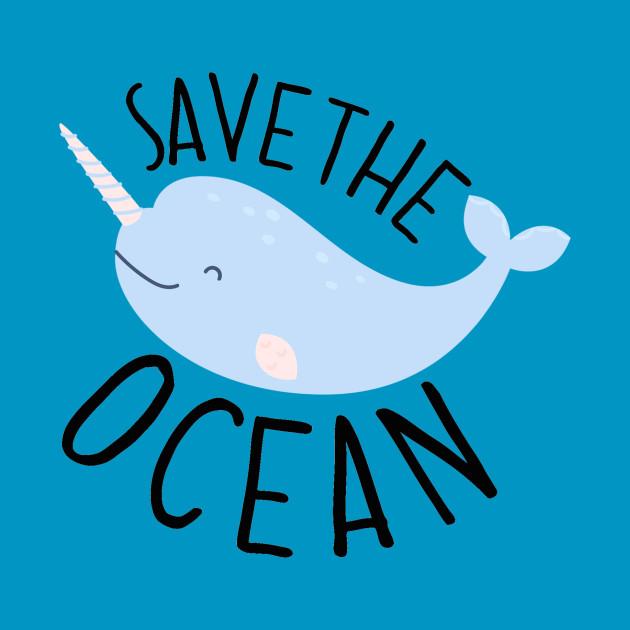 Save The Ocean Save The Ocean Pillow Teepublic