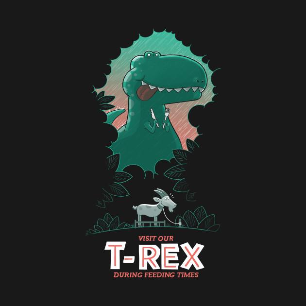 Visit our T-Rex!