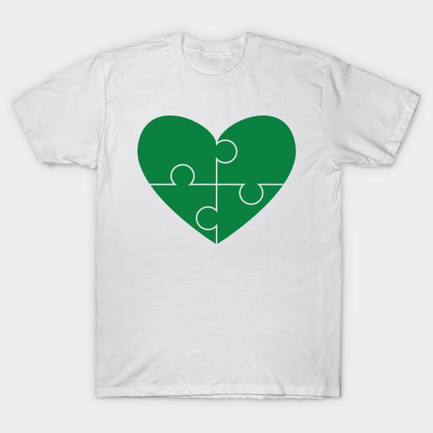 f76931215 Irish Heart St. Patrick's Day Gift – Autism Awareness - St Patricks ...