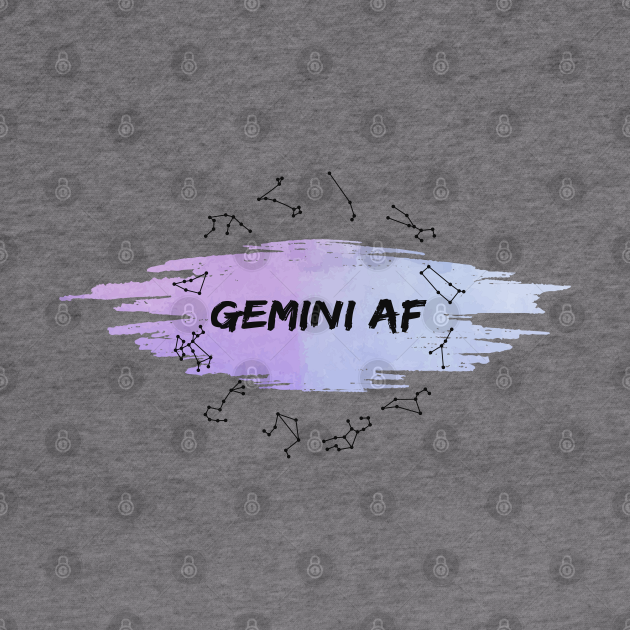 Gemini Af : Spiritual Birth signs