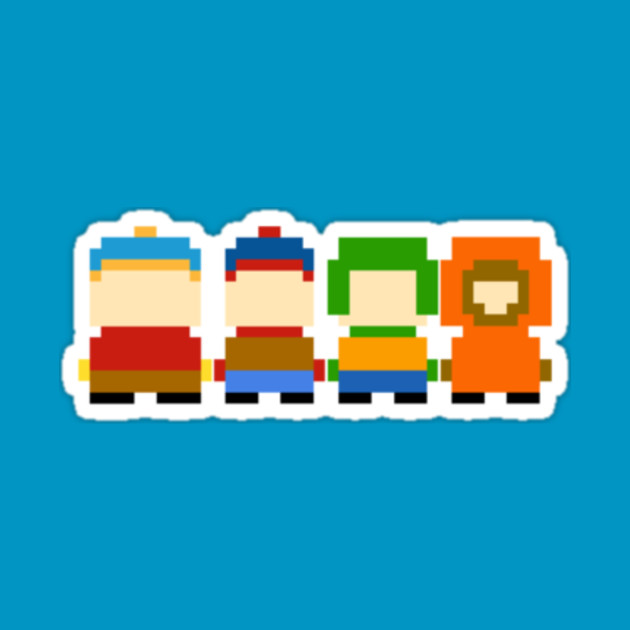 South Park Pixelated